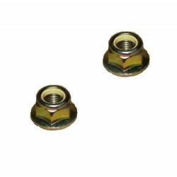 Land Rover Discovery 2 Set Of Two Track Rod End Nuts Part ANR1000