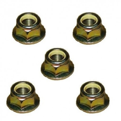 Buy Land Rover Discovery 2 set of 5 track rod end nuts part ANR1000