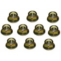 Land Rover Discovery 2 set of 10 track rod end nuts part ANR1000