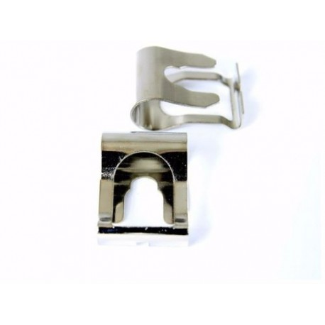 Buy x2 Chrome Vauxhall Corsa Van Omega Tigra windscreen wiper motor repair clip