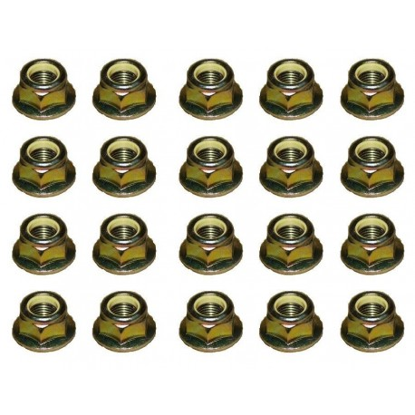 Land Rover Discovery 2 Set Of 5 Track Rod End Nuts Part ANR1000
