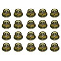 Land Rover Discovery 2 set of 20 track rod end nuts part ANR1000