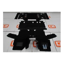 Buy Front/Rear Mats HD 110 Black Part BA8817