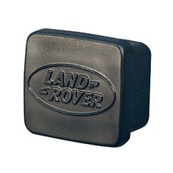 "Buy Land Rover Defender/Discovery/Range Rover Classic trailer hitch 2"" recepacle plug with logo - genuine part ANR3196"