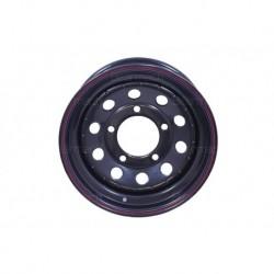 16'' x 7 Black Modular Steel Wheel Part BA015DS