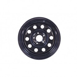 Buy 16'' x 8 Black Modular Steel Wheel Part BA015ES