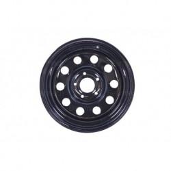 16'' x 8 Black Modular Steel Wheel Part BA015ES