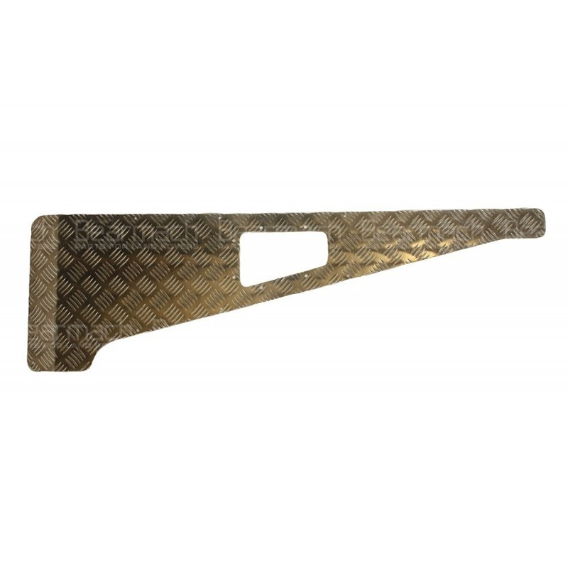 3mm aluminium wing top chequer plate part ba113 3