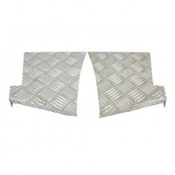 3mm Rear Wing Chequer Plate Part BA124-3