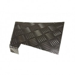2mm Rear Black Wing Chequer Plate Part BA124C
