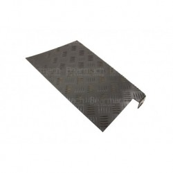 3mm Black Rear Wing Chequer Plate Part BA124D-3