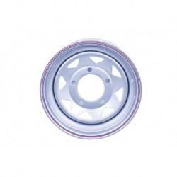16'' x 7 Silver 8 Spoke Steel Wheel Part BA3403