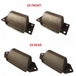 Buy 2x front & 2x rear Land Rover/Defender/ Discovery/ Range Rover Classic axle rubber bump stops ANR4188 & ANR4189