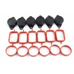 Buy 6 x 33mm BMW swirl flap replacements removal blanks bungs and manifold gaskets