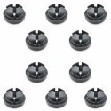 Range Rover Classic / Discovery 2 set of 10 grommet for bonnet prop AYA10004L