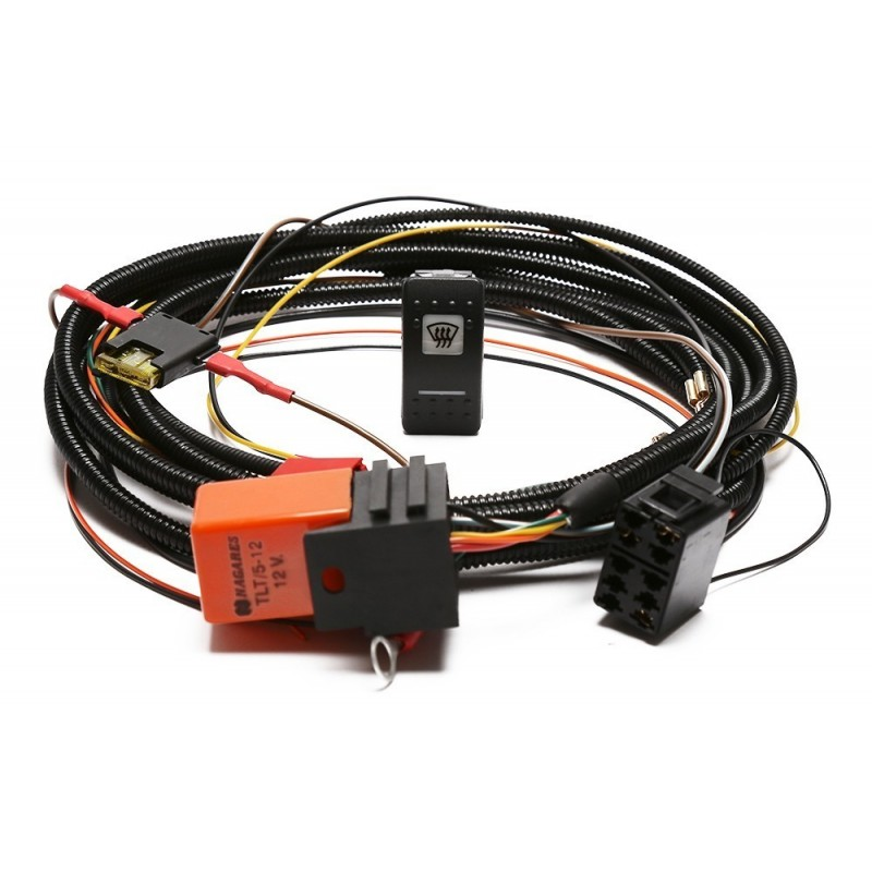 heated windscreen wiring kit with carling switch part ba10290. Black Bedroom Furniture Sets. Home Design Ideas