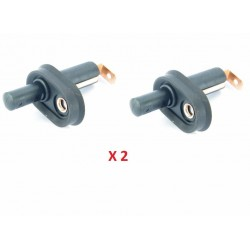 Buy 2X Land Rover Discovery 1/ Range Rover Classic/ Defender 90 110 130 Courtesy Dome interior Light Door Switch 86-94 PRC8548