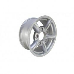 Buy Silver Challenger 7x16'' Alloy Wheel Part BA015L