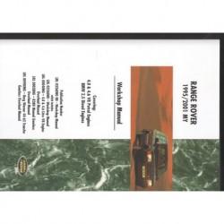 Buy Workshop Manual Part VDR10037