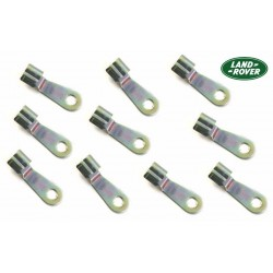 Buy Defender 90 / 110 / 130 clip set 10 linkage door lock genuine Land Rover BRC1393