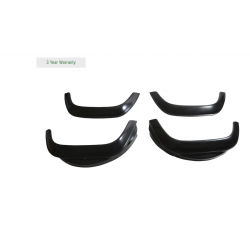 Buy WHEEL ARCH SET GLOSS BLACK SUITABLE FOR DEFENDER VEHICLES Part BA3730G