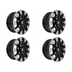 Buy Set of Four (4) - 18'' Sawtooth Wheels Diamond Cut Part DA6635