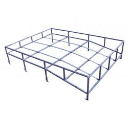 Defender 110/ Series 109 Flat Pack Roof Rack LWB Part# DA1090