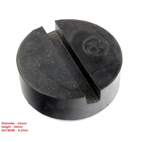 Buy Trolley jack adapter Rubber pad block jacking pads small classic car