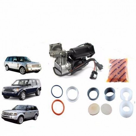Buy LandRover Discovery3 4 RangeRoverSport Air Suspens Compressor Repair Kit Hitachi
