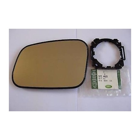 Buy Land Rover Discovery 1,2/Range Rover P38 - Door mirror glass R/H and mounting clip STC4625+CRD100640