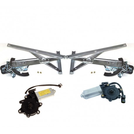 Buy Land Rover Discovery 1 front LH & RH side window regulator mechanism and motors
