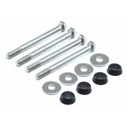 LAND ROVER DEFENDER 90 110 130 STAINLESS STEEL BUMPER BOLT KIT - DA1139 & DA117