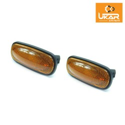 Land Rover Freelander 1 Led Amber Side Marker Repeater Lights Set XGB000030LED