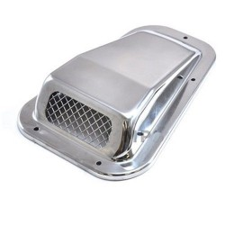 Buy Land Rover Defender stainless steel wing top air intake grill left hand DA4000SS