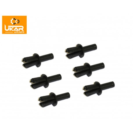 Buy Land Rover / Range Rover P38/Classic / Freelander/Discovery 1/Defender 90/110 plastic drive rivet set of 6 part 79086