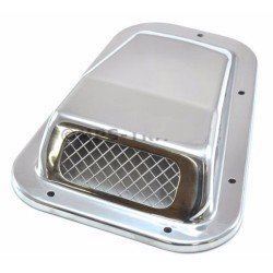 DA4001SS Land Rover Defender 90/110/130 stainless steel wing top air intake grill right hand
