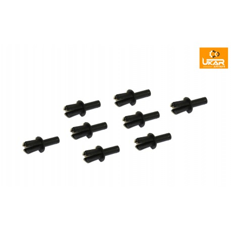 Buy Land Rover / Range Rover P38/Classic / Freelander/Discovery 1/Defender 90/110set of 8 plastic drive rivet part 79086