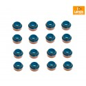 Land Rover Defender/Discovery 1,2 /Range Rover Classic /P38 set of 16 Valve stem oil seals part ERR1782