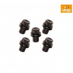 Buy Land Rover / Range Rover L322 2003-2005 set of 5 Nut-Alloy-Road part RRD000011