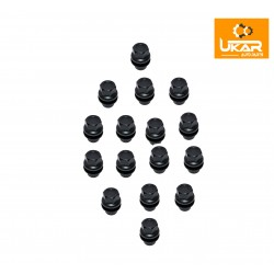 Buy Land Rover / Range Rover L322 2003-2005 set of 16 Nut-Alloy-Road part RRD000011