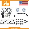BMW double twin dual vanos seals repair set kit M52 / M54 / M56/ with gaskets