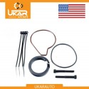 Air suspension compressor piston ring repair fix kit Wabco for Porsche Cayenne