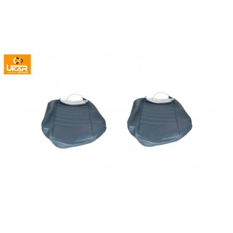 Buy Land Rover Defender 90 Set Of 2 Front Seat Base Cover Grey Part DA4029