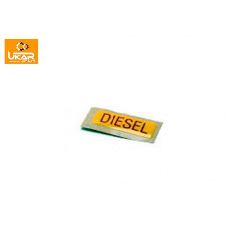 Buy Land Rover Defender 110 / Discovery 2 Label Diesel Fuel Part WLE000020
