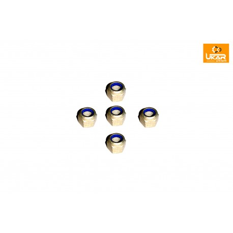 Buy Land Rover Defender / Discovery 1 / Range Rover Classic Set of 5 Nut M12 Fine Lower Shock RYH501080