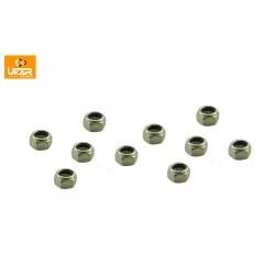 Buy Land Rover Defender 90/110/ Discovery 1 / Range Rover Classic Set of 10 Track Rod End Pin Nut Only Part TRE80N
