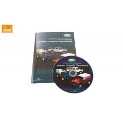 Land Rover Defender 90 Land Rover Dvd - Workshop - Technical & Parts Catalogue