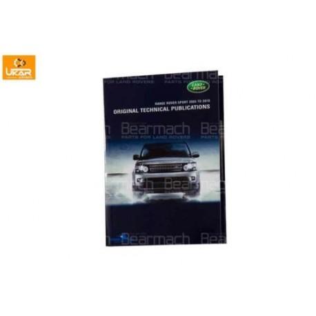 Land Rover Range Rover Sport 2005-2010 Dvd - Workshop - Technical & Parts Catal