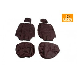 Buy LAND ROVER DEFENDER 110 2007-ON FRONT SEATS WATERPROOF SEAT COVERS SET BLACK