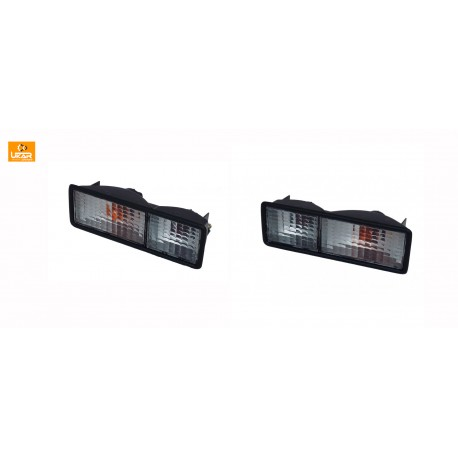 Buy Land Rover Discovery 1 RH&LH Bumper Lamp Assembly Rear Whit AMR6510W&AMR6509W